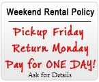 Des Moines IA Party Rentals - Weekend Rate